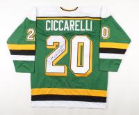 "Dino Ciccarelli Signed Jersey Inscribed ""HOF 2010"" (TSE COA) at PristineAuction.com"