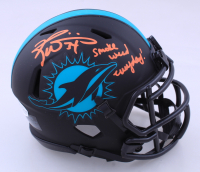 """Ricky Williams Signed Dolphins Eclipse Alternate Speed Mini Helmet Inscribed """"Smoke Weed Everyday!"""" (Beckett COA) at PristineAuction.com"""