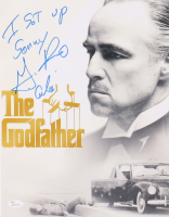 """Gianni Russo Signed """"The Godfather"""" 11x14 Photo Inscribed """"I Set Up Sonny"""" & """"Carlo"""" (JSA COA) at PristineAuction.com"""