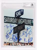 """Saturday Night Live"" 8x10 Photo Signed By Tina Fey, Jimmy Fallon, Al Franken, Horatio Sanz & Jim Belushi (BGS Encapsulated) at PristineAuction.com"