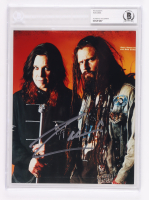Rob Zombie Signed 8x10 Photo (BGS Encapsulated) at PristineAuction.com