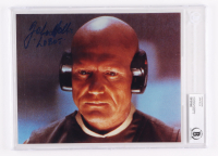 """John Hollis Signed """"Star Wars"""" 8x10 Photo Inscribed """"Lobot"""" (BGS Encapsulated) at PristineAuction.com"""