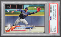 Ronald Acuna Jr. 2018 Topps Update #US252 RD RC (PSA 9) at PristineAuction.com
