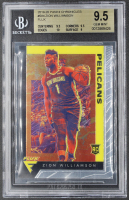 Zion Williamson 2019-20 Panini Chronicles #584 Flux RC (BGS 9.5) at PristineAuction.com