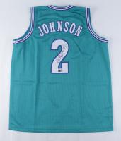 Larry Johnson Signed Jersey (Tristar Hologram) at PristineAuction.com