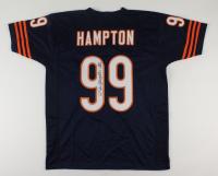"Dan Hampton Signed Jersey Inscribed ""HOF 2002""(JSA COA) at PristineAuction.com"