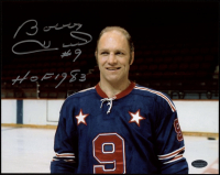 """Bobby Hull Signed 8x10 Photo Inscribed """"HOF 1983"""" (Schwartz COA) at PristineAuction.com"""