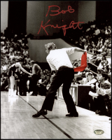 Bob Knight Signed Indiana Hoosiers 8x10 Photo (Schwartz Sports COA) at PristineAuction.com