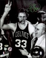 Larry Bird Signed Celtics 8x10 Photo (Schwartz COA) at PristineAuction.com