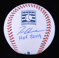 "Tom Glavine Signed OML Baseball Inscribed ""HOF 2014"" (JSA COA) at PristineAuction.com"