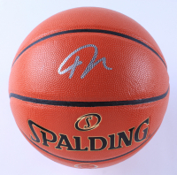 """Giannis Antetokounmpo Signed NBA """"The Finals"""" Game Ball Series Basketball (Beckett COA) (See Description) at PristineAuction.com"""