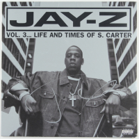 """Jay-Z Signed """"Vol. 3... Life and Times of S. Carter"""" Vinyl Record Album Cover (JSA LOA) (See Description) at PristineAuction.com"""