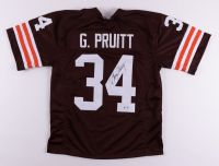 Greg Pruitt Signed Jersey (PSA COA) at PristineAuction.com