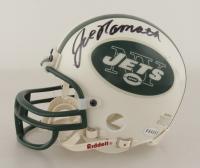 Joe Namath Signed Jets Mini Helmet (Steiner COA) at PristineAuction.com