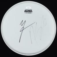 "Vince Neil & Nikki Sixx Signed 11"" Drumhead (JSA Hologram) (See Description) at PristineAuction.com"
