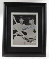 Mickey Mantle Signed Yankees 13.25x16.25 Custom Framed Photo (JSA Hologram & Sports Integrity COA) at PristineAuction.com