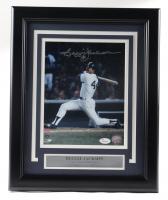 Reggie Jackson Signed Yankees 13.5x16.5 Custom Framed Photo (JSA COA) at PristineAuction.com