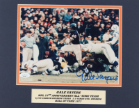 Gale Sayers Signed Bears 11x14 Custom Matted Photo Display (JSA COA) at PristineAuction.com