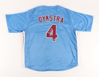 """Lenny Dykstra Signed Jersey Inscribed """"Nails"""" (Beckett Hologram) at PristineAuction.com"""