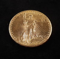1927 $20 Twenty-Dollar Saint-Gaudens Double Eagle Gold Coin With Motto at PristineAuction.com