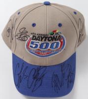 Daytona 500 Adjustable Hat Signed by (6) Including Carl Edwards, Matt Kenseth, Ryan Newman, Clint Boyer (JSA COA) at PristineAuction.com