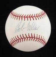 Bob Feller Signed OML Baseball (MLB Hologram) at PristineAuction.com