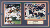 Gale Sayers Signed Bears 14x24 Custom Matted Photo Display (JSA COA) at PristineAuction.com