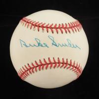 Duke Snider Signed ONL Baseball (PSA Hologram) at PristineAuction.com
