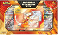 Pokemon Trading Card Game HO-OH Trainer's Legendary Box with (60) Cards at PristineAuction.com