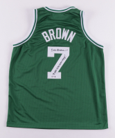 """Dee Brown Signed Jersey Inscribed """"91 NBA Slam Dunk Champ!"""" (PSA COA) at PristineAuction.com"""