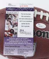 """Ed O'Neil Signed """"Married With Children"""" Football with Display Case Inscribed """"4 TD's in 1 Game"""" (JSA COA) at PristineAuction.com"""