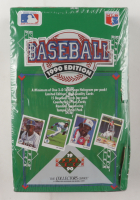 1990 Upper Deck Series 1 Baseball Low # Box with (36) Packs at PristineAuction.com