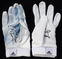 Tim Tebow Signed Pair of Game-Used Adidas Football Gloves (Tebow COA) at PristineAuction.com