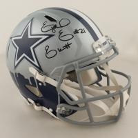 Ezekiel Elliott Signed Cowboys Full-Size Authentic On-Field Speed Helmet (Radtke COA) at PristineAuction.com