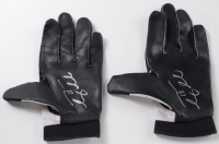 Tim Tebow Signed Pair of Left-Hand Game-Used NFL Equipment Football Gloves (Tebow COA) at PristineAuction.com