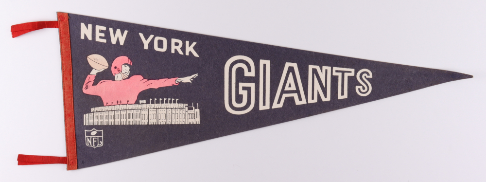 1940s Giants Football Pennant at PristineAuction.com