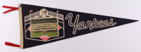1961 Yankees Pennant Featuring Mickey Mantle & Roger Maris at PristineAuction.com