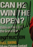 Tiger Woods Signed 26x32 Magazine Display (JSA LOA) (See Description) at PristineAuction.com