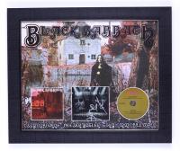 Black Sabbath 20x24 Custom Framed Photo Display Band-Signed by (4) with Ozzy Osbourne, Tony Iommi, Geezer Butler, & Bill Ward (JSA Hologram) at PristineAuction.com
