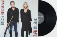 Lindsey Buckingham & Chrstine Mcvie Signed Vinyl Record Album (JSA COA) at PristineAuction.com