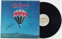 """Graham Russell & Russell Hitchcock Signed """"The One That You Love"""" Vinyl Record Album (JSA COA) (See Description) at PristineAuction.com"""