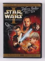 "Kenny Baker, Ray Park & Jake Lloyd Signed ""Star Wars Episode I"" DVD Case Inscribed ""R2-D2"" (Beckett LOA) at PristineAuction.com"