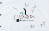 The Legends Tour 13.5x21 Pin Flag Signed by (7) Including Kathy Whitworth, Amy Alcott, Joanne Carner, Patty Sheehan (JSA COA) at PristineAuction.com