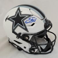 Emmitt Smith Signed Cowboys Full-Size Authentic On-Field Lunar Eclipse Alternate SpeedFlex Helmet (Beckett Hologram) at PristineAuction.com