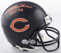 "Dick Butkus Signed Bears Mini-Helmet Inscribed ""HOF 79"" (Beckett Hologram) at PristineAuction.com"