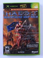 """Steve Downes Signed XBOX Halo 2 Multiplayer Map Pack Video Game Inscribed """"Master Chief 117"""" (Radtke COA) at PristineAuction.com"""