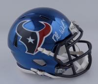 Deshaun Watson Signed Texans Chrome Alternate Speed Mini-Helmet (JSA COA) at PristineAuction.com