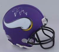 Justin Jefferson Signed Vikings Mini-Helmet (Beckett Hologram) (See Description) at PristineAuction.com