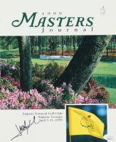 Jose Maria Olazabal Signed 1999 Masters Journal Program (JSA COA) at PristineAuction.com