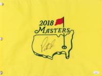 Patrick Reed Signed 2018 Masters Pin Flag (JSA COA) at PristineAuction.com